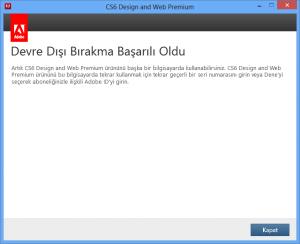 3-Deactivate Adobe