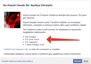Facebook Hayran Sayfasi